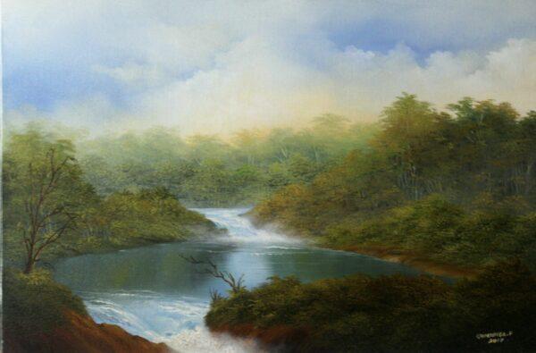 Cascada y Laguna