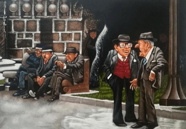 Los Jubilados de la Plaza Grande