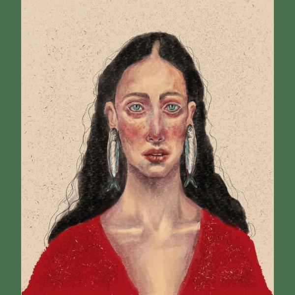 Mujer rota