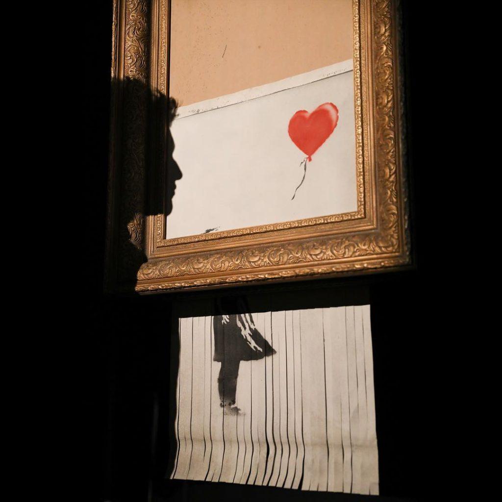 Love Is In The Bin, nuevamente en Sotheby's